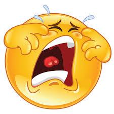 Resultado de imagen de emoji crying