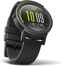 Ticwatch E most comfortable <b>Smartwatch</b>-Shadow,<b>1.4 inch</b> OLED