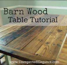 make your own barn wood table barn wood furniture diy