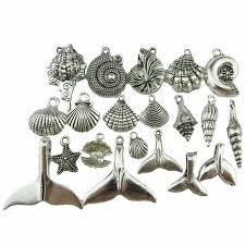 GLOWCAT A9Q904 <b>Mix</b> 20pcs/set Starfish Conch Shell Whale Tail ...