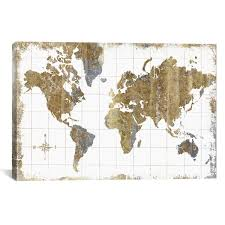 <b>World</b> Map <b>Wall Art</b>