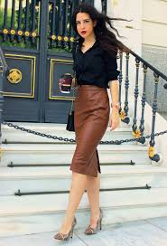 how to spruce up your dreary work interview outfit glam radar brown snakeskin pumps
