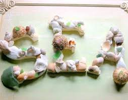 seashell craft ideas beach must do for vaca in may coastal typography craft store wood letters em