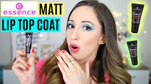 <b>Essence matte</b> lipstick - make me <b>matt</b> lip <b>top coat</b> - YouTube