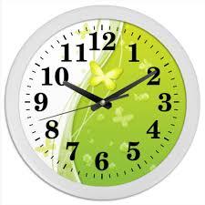 Часы круглые из пластика <b>Летний мотив</b> #2445908 от grelenav ...