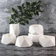 <b>Silicone Concrete</b> Molds <b>Geometric Concrete Planter</b> Mold | Etsy