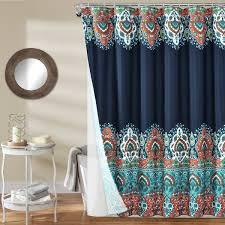 Bungalow Rose Octavio <b>Bohemian</b> Polyester 14 <b>Piece</b> Shower ...