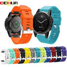 <b>Silicagel Soft</b> Bracelet Wrist Strap for Garmin Fenix 5S GPS Smart ...
