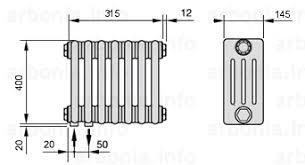 <b>Радиатор ARBONIA 4040</b>/7 №69 цвет RAL 9022   Официальный ...