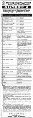 karachi metropolitan corporation medical health services related articles