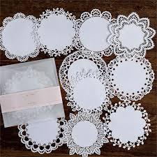 <b>Naifumodo Lace</b> Paper Hollow Tableware Decoration Packaging ...