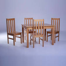 <b>Red</b> Barrel Studio Willeford Complete 5 Piece <b>Solid Wood</b> Dining ...
