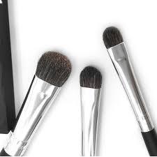 Professional Eyeshadow Makeup <b>Brush</b> Goat Hair WoodHandle ...