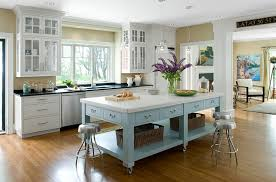 kitchen island mobile: view in gallery exquisite kitchen island on casters in beautiful blue and white with ample storage