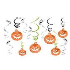 Details about <b>Halloween Pumpkin</b> Scary Ballon Bats Swirls ...
