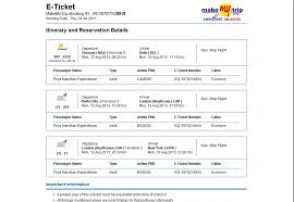 how i lost inr 60 000 booking through travel agents online initial ticket makemytrip