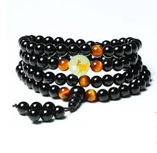 Yoga Black Onyx Men 6mm 108 <b>Beads</b> Strand <b>Bracelets</b> Luminous ...