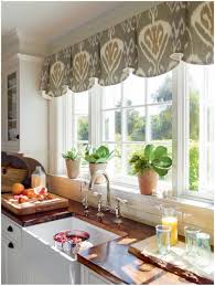 Large Kitchen Window Treatment Kitchen Gingham Plaid Lamp Shade Idea Various Interesting Window