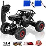 SZJJX RC Cars Off-Road Rock Vehicle Crawler Truck <b>2.4Ghz</b> 4WD ...