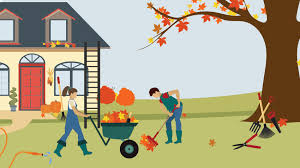 Image result for couple doing yard work