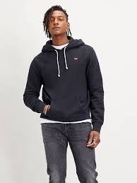 <b>New Original Hoodie</b> - Black   <b>Levi's</b>® ES