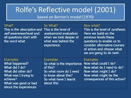 rolfe model reflection nursing essays   homework for you    rolfe model reflection nursing essays   image