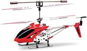 Syma S107/S107G R/C Helicopter with Gyro- Red ... - Amazon.com