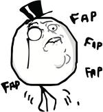 Fap Fap Meme emoticon | Emoticons and Smileys for Facebook/MSN ... via Relatably.com