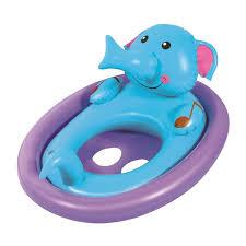 <b>Круг</b> для плавания «Животные», с сиденьем, 81 х 56 см, от 1-3 ...