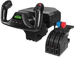 <b>Штурвал</b> Flight Yoke System с блоком рычагов Throttle Quadrant ...