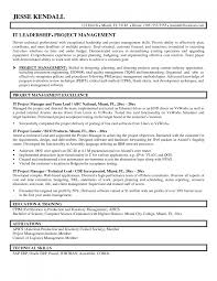 project management skills resume sample cipanewsletter cover letter sample resume it manager it project manager sample
