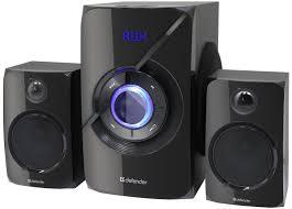 Акустическая 2.1 система <b>Defender X420</b> 40Вт, Bluetooth, FM/MP3 ...