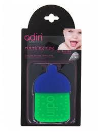 <b>Прорезыватель Adiri Bottle Teething</b> Ring — купить по выгодной ...
