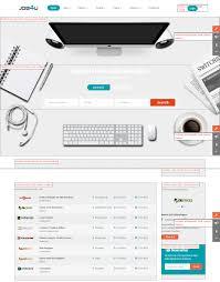 responsive joomla job board template sj jobu template position template position