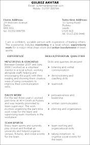 resume example for curriculum vitae for objective   education        examples to put on a resume with experience and skills or personal qualities  resume