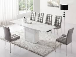 round white marble dining table: white marble dining table dining room furniture