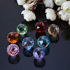 FidgetKute 8 Rainbow <b>Chandelier Crystal Lighting Lamp</b> Part Ball ...