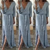Womens Maxi Boho Floral <b>Summer Beach Long</b> Skirts Evening ...
