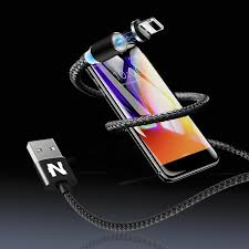 NOHON <b>3 IN 1</b> Magnetic USB Cable <b>Type C</b>/<b>Micro</b>/iPhone Fast ...