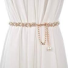 Chenyu <b>Women Fashion</b> Metal Waist Chain Thin Decoration <b>Belt</b> ...
