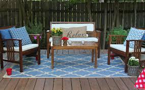 cozy outdoor patio table wooden brown set patio source outdoor