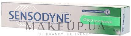 Зубная паста с фтором - Sensodyne F: купить по ... - MAKEUP
