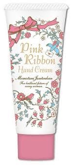 <b>Крем для рук</b> Momotani <b>Pink</b> Ribbon с цветочными экстрактами ...