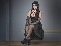 3 Ways to Be a <b>Classy Goth</b> - wikiHow