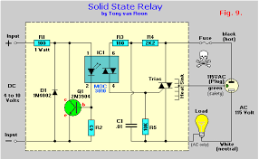 ac solid state relay circuit diagram wiring diagrams solid state relay wiring diagrams electrical