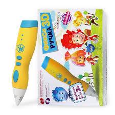 <b>3D ручка FUNTASTIQUE</b> FIXI <b>COOL</b> (ЖЕЛТАЯ)