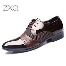 ZXQ <b>Men</b> Dress <b>Shoes Plus</b> Size 38 48 <b>Men</b> Business <b>Flat Shoes</b> ...