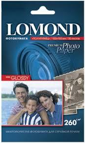 Купить бумагу для принтера <b>Lomond</b> для струйной печати, <b>A6</b> ...