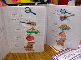 five senses chart worksheet format and example five senses