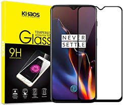 for Oneplus 6T Screen Protector, KHAOS <b>3D Curved Full Screen</b> ...